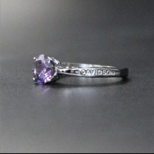 ONE LEFT🔥Size 5 HD Violet stone ring
